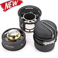 LG TS Alocs Kompor Gas Alcohol Stove Portable untuk Camping - CW-C01 -