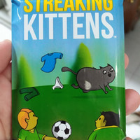 Streaking kittens (2nd expansion to the Exploding kittens)