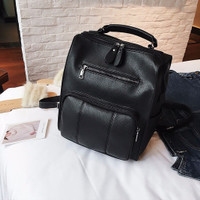 Tas Backpack Ransel Impor Wanita Cewek Hitam Import Formal 20254