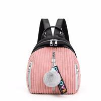 Tas Impor 82666 pink Tas Wanita Ransel Korea Pergi Back Pack Kuliah