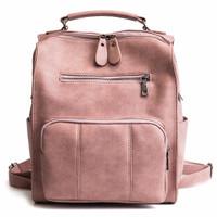 Ransel Import Tas Backpack Pink Wanita Besar Fashion Kuliah 20254