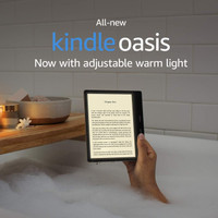 All new Kindle Oasis - 10th Gen - 2019 release - No Ads - 8GB 300 ppi