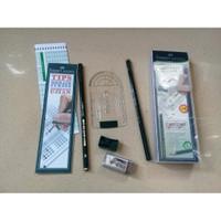 Pensil Plus Paket Ujian Standar - Faber Castell