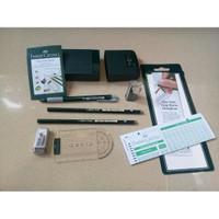 Pensil Plus Paket Ujian Mantap - Faber Castell