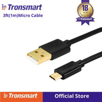 PREMIUM GOLD Cable Data/Kabel Charger Micro USB 1M Tronsmart