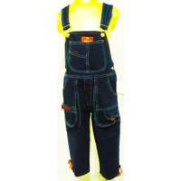 497-502* 2-8 tahun Overall baju kodok monyet jeans panjang anak keren