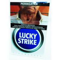 Rokok Lucky Strike biru 20