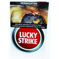 Rokok Lucky Strike merah 20