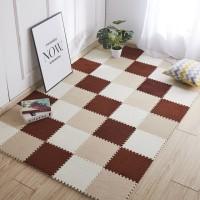 New Lantai Tikar Jigsaw Karpet Kamar Tidur Ruang Tamu Lantai