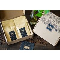 Paket Souvenir Kopi Arabika Robusta Coffee Drip Bag isi 10 sachet