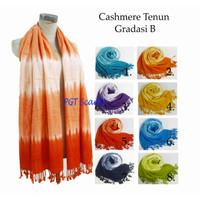 CASHMERE TENUN | CASHMERE ANYAM | PASHMINA RAINBOW