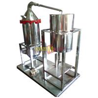 Mesin Destilasi Minyak Atsiri Kukus (Nilam, Cengkeh, Kayu Putih)