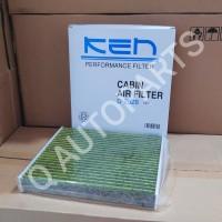 KEN Filter AC/ kabin. Fortuner, Hilux. Tipe 2928 CH (hijau)