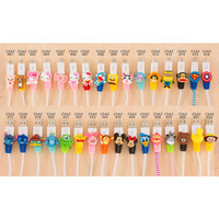 [Kode 021-034] Android Cartoon Cable Protector / Pelindung Kabel