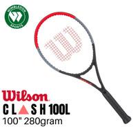 NEW Raket Tenis Wilson CLASH 100L / Raket Wilson CLASH 100L (280g)