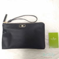 KS DOUBLE ZIP WRISTLET - BLACK
