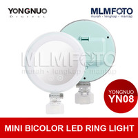 YONG NUO YN08 MINI BICOLOR LED RING LIGHT YONGNUO YN-08 YN 08
