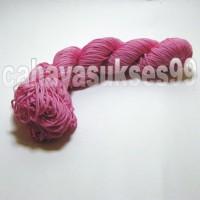 Tali Rumbai Pink Aksesoris Rajutan Variasi Frame Handycraft Souvenir