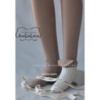 RAYON KHAKI Legging wudhu batatsa leging inner gamis FL-0967-NA