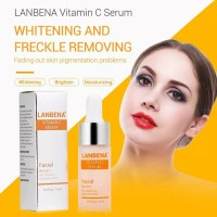 lanbena original vitamin c 20% facial serum hyaluronic acid whitening