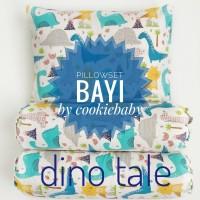 Bantal Guling Bayi Premium isi Mikrofiber/Baby Pillow Set Premium