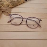 Terlaris Frame Ghania 2124   Lensa - Kacamata Paket Lensa Minus -