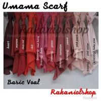 Kerudung Segi Empat Basic Voal by Umama Scraft