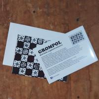 KARTU UCAPAN BATIK - MOTIF GROMPOL