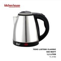 Teko Listrik Stainless TL-0180 Kitchen House