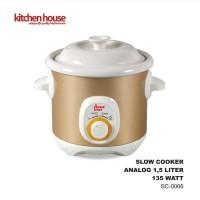 Cyprus Slow Cooker 1.5L Keramik SC-0066