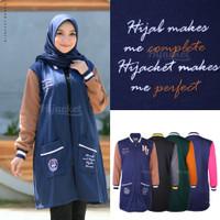 Jaket Muslimah Hijaber QADIRA ROYAL MAGNUM Hijacket Original Panjang