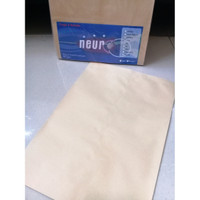 Amplop Coklat Folio Brown Kraft Envelopes 80 gsm 100 lembar - Neur