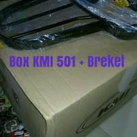 Termurah - Jual satu paket BOX MOTOR KMI 501 BREKET DUDUKAN Belakang