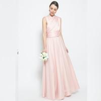 ATELIER MODE Bridesmaid Gown Choose Halter Convertible Dress Varda