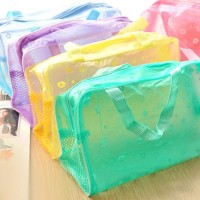 New Waterproof Cosmetic Toiletry Cosmetic Pouch Travel Bag