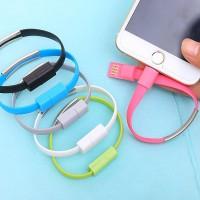 [HOT SALE]Aksesoris Handphone: Kabel Charger USB Bentuk Gelang