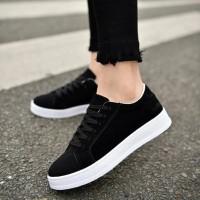 Jual Sepatu/Sneakers/Kets Sekolah Hitam Wanita/Cewek Bagus dan
