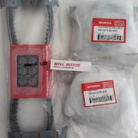 Vanbelt Kit Rumah roller dan kipas Vario 150 FI K36 Asli Ahm | Baru!!