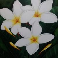 Jual Lukisan Bunga Kamboja Stok Baru Lukisan Bunga Kamboja Jakarta Barat Axias Tokopedia