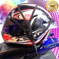 New Helm Strap Tali Jaring Helm Bagasi Motor Double Line Elastis