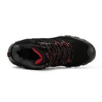 Sepatu Hiking/Gunung Snta 475 Black Red KUALITAS TERBAIK & TERJAMIN
