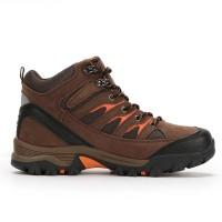 Sepatu Gunung/ Hiking Outdoor Snta 475 Brown Orange KUALITAS TERBAIK &