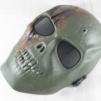 Airsoft Skull Mask topeng air soft tengkorak army of two urbex