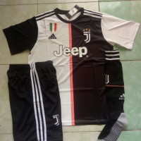 Jersey 1 set Juventus Home 2019/2020 grade ori official