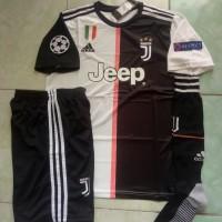 Jersey 1 set Juventus Home FULLPATCH UCL 2019/2020 Gradeori official