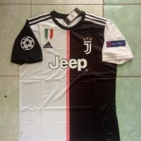 Jersey Juventus Home FULLPATCH UCL 2019/2020 Grade ori official