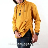 Jaket Taslan Cagoule Outdoor dan Indoor