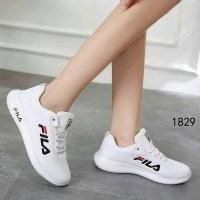 Sepatu Wanita Danela Fila SDS283 Putih Murah Casual Simpel Murah Promo