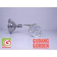 Sangkutan / Hook Bloom Silver Tali Gorden