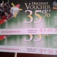 voucher disc 36% jungle land